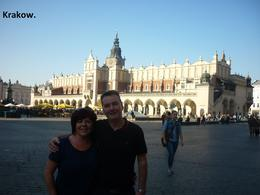 Photo of Krakow Sightseeing Bike Tour of Krakow Kracow main square.