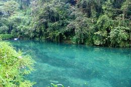 Gorgeous lake we found while walking on Emei Shan. It was such a gorgeous blue! - June 2012