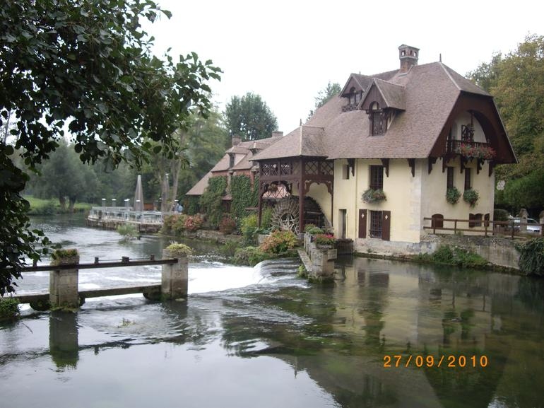 Lunch destination -  Water Mill - Paris