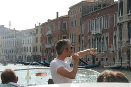 Photo of Venice Skip the Line: Venice in One Day Including Boat Tour Our boat guide pointing out the beauty of Venice