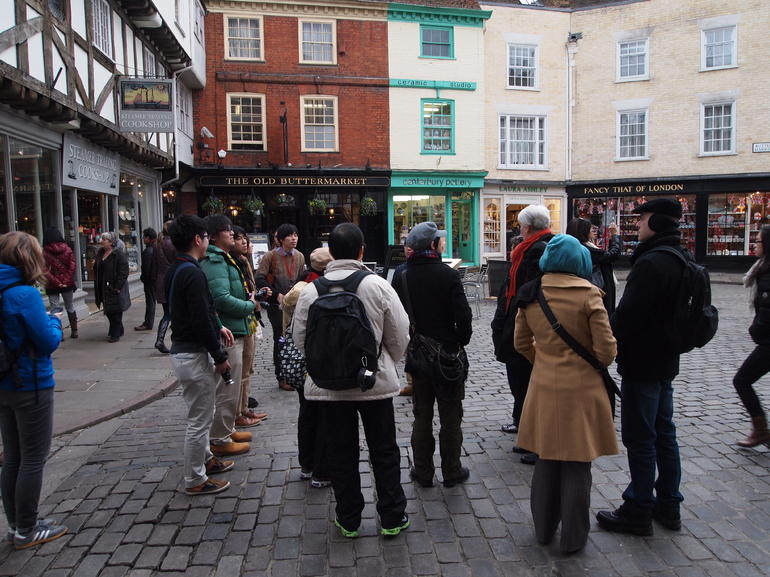 Our tour group for the Leeds Castle, Canterbury Cathedral and Dover tour - London