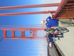 Photo of Vancouver Vancouver Trolley Hop-on Hop-off Tour Peter on Golden Gate Bridge San Francisco