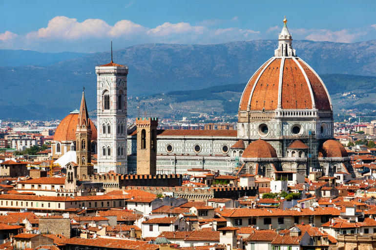 Rooftops in Florence - Florence