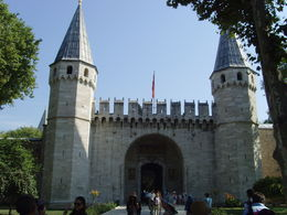 Entrance for Topkapi palace , Rajni P - August 2015