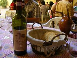 Photo of Florence Chianti Region Wine Tasting Half-Day Trip from Florence WIne & bread