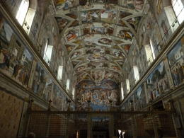 Sistine Chapel without the crowds. , Jeffery H - April 2013
