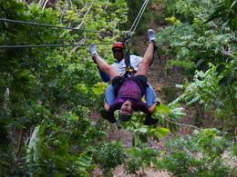 Photo of Roatan Roatan Shore Excursion: Zip 'n' Dip Canopy Tour Ya gotta do this!