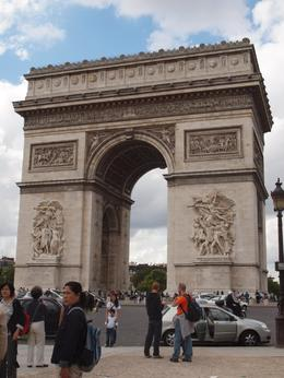 Arc de Triomphe, Yvonne M - September 2010