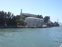 Photo of San Francisco Alcatraz and San Francisco City Tour Approaching Alcatraz.