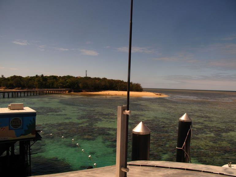 Arrival to Green Island - Cairns & the Tropical North