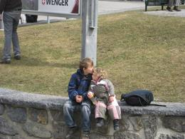 beautiful moment captured when train stop for a while, Anthony W - April 2010