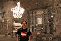 Amazing chapel under the salt mine! , Chan KW & SM San - June 2013