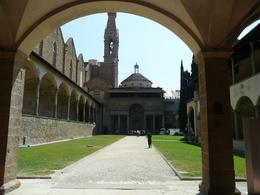 Photo of   From the Inside of the Basilica of Santa Croce