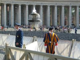 Photo of Rome Papal Audience Ticket at Vatican City Guard