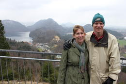 View of Hohenschwangau and Alpsee , Scott S - April 2012