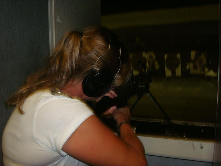 In the shooting range - Las Vegas