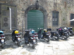 Photo of Florence Vespa Small Group Day Trip to the Chianti Wine Region Lunch Stop
