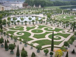 Photo of Paris Versailles and Giverny Day Trip Manicured greenery at Gardens of Versailles