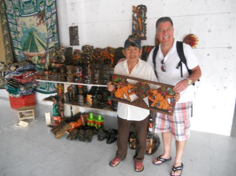 mayan woodworker 2 - Cancun