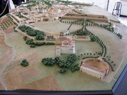 Photo of Rome Hadrian's Villa and Villa d'Este Half-Day Trip from Rome Model of Villa Adriana