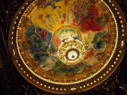 Photo of   The chandelier in Palais Garnier