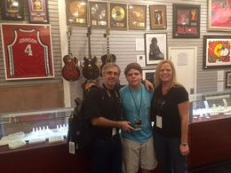My husband and I with our 15 year old son. He had a blast...and so did we. Great tour! , Penny - January 2016
