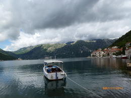 What a beautiful scene in Perast. , Tzi Ling M - June 2013