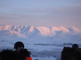 Photo of Reykjavik Viking Horse-Riding and Gulfoss and Geysir Express Tour from Reykjavik Sun coming up on the mountains