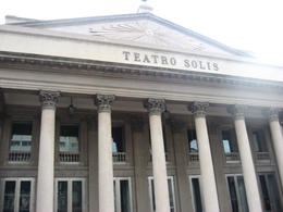 Up-close view of the Teatro Solis., Bandit - June 2012
