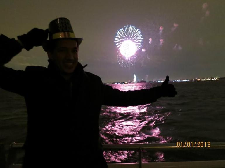 The New Year .. Liberty Statue - New York City