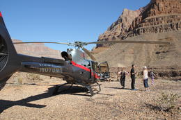 Photo of Las Vegas Grand Canyon Helicopter Tour from Las Vegas Thr moss family at the grand canyon