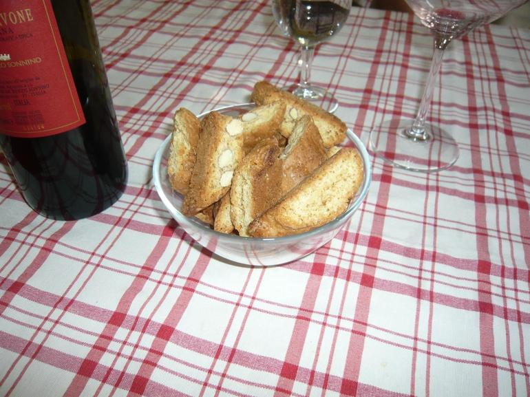 Biscotto with Vinsanto - Florence