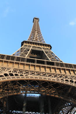 Photo of Paris Skip the Line: Eiffel Tower Tickets and Small-Group Tour A long way to the top.