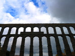 Photo of Madrid Avila and Segovia Day Trip from Madrid Aqueduct in the city of Segovia