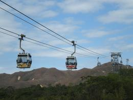 Photo of Hong Kong Lantau Island and Giant Buddha Day Trip from Hong Kong Cable car on Lantau Island