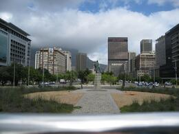 This is taken from the Hop on Hop off bus . This is Long St. Capetown, Valerie P - October 2009