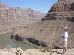Photo of Las Vegas Grand Canyon All American Helicopter Tour Enjoying the Canyon Sights