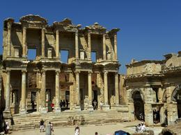 Ephesus. The Library. - August 2010