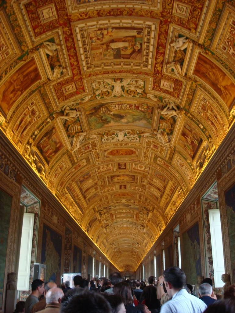 Gallery of Maps, Vatican Museums - Rome