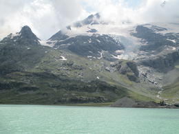 Photo of Milan Swiss Alps Bernina Express Rail Tour from Milan glacier