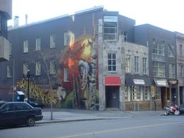 Photo of Montreal Montreal City Guided Sightseeing Tour graffiti