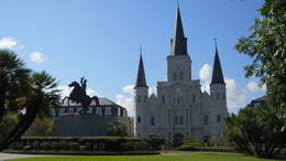 Photo of New Orleans New Orleans The French Quarter MP3 Audio Walking Tour Jackson Square