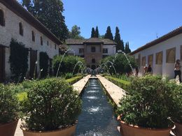 Inside the La Alhambra city - Granada , Chandan M - June 2016