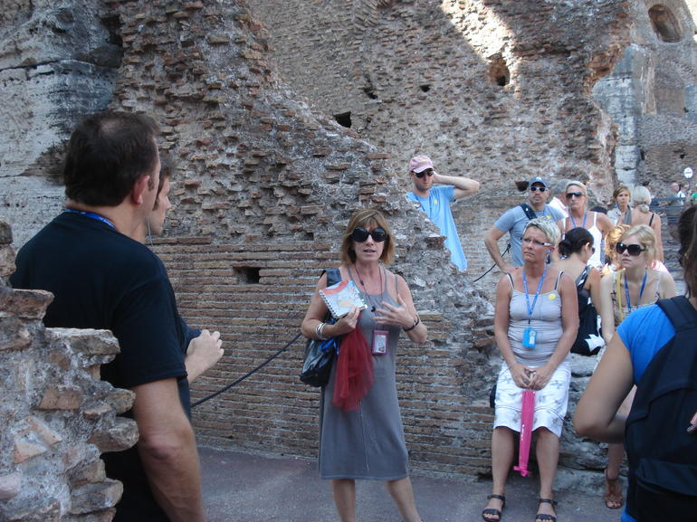 Laura, our guide - Rome