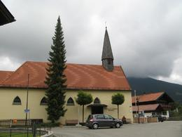 Actual church in Oberammergau., Shin M - September 2010