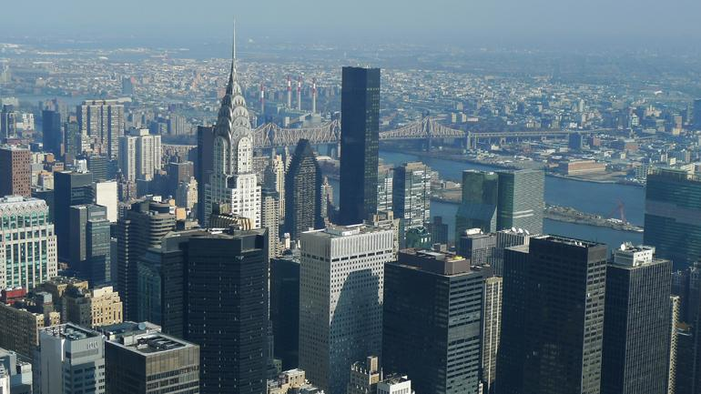 View of NYC from the Empire State Building - New York City