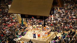 Photo of Tokyo Tokyo Sumo Wrestling Tournament Ring ceremony
