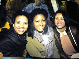 My two daughters and me on a night Seine River Cruise. What a great way to celebrate their college graduations. ;) Roblyn H. Mitchellville, MD October 4, 2012 , Roblyn - October 2012