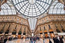 The Galleria Vittorio Emanuele II - May 2011