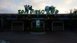 Photo of San Diego San Diego Zoo Through the Gates